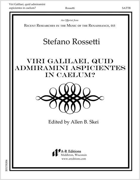 Rossetti: Viri Galilaei, quid admiramini aspicientes in caelum?