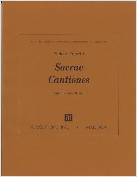 Rossetti: Sacrae Cantiones