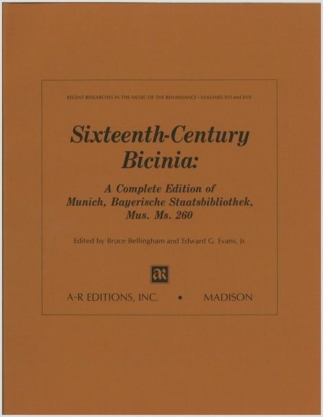 Sixteenth-Century Bicinia