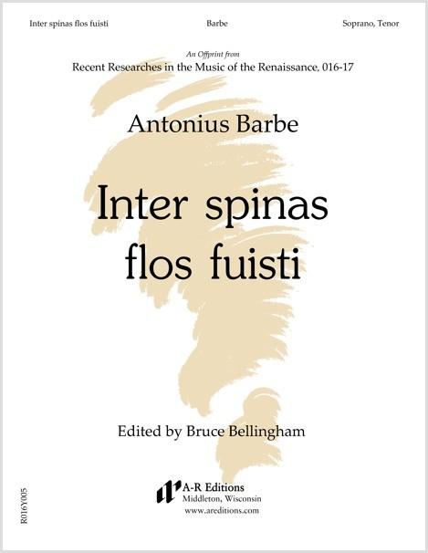 Barbe: Inter spinas flos fuisti