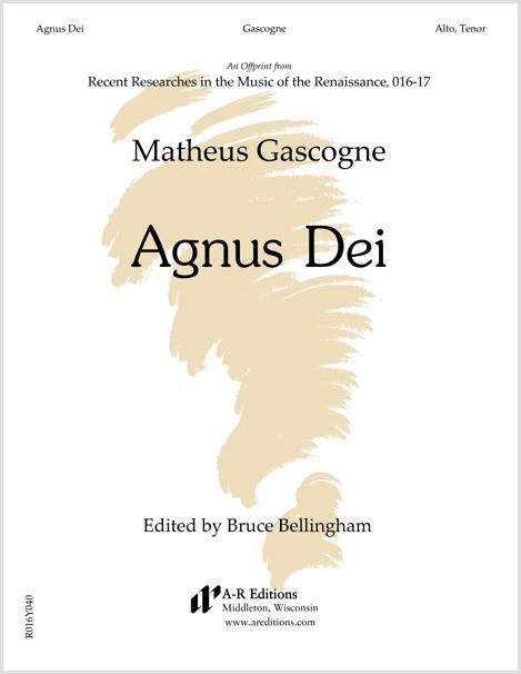 Gascogne: Agnus Dei