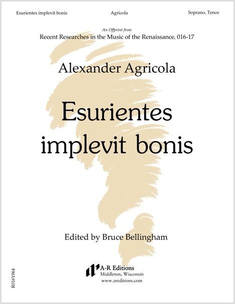 Agricola: Esurientes implevit bonis