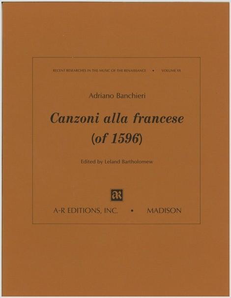 Banchieri: Canzoni alla francese (of 1596)