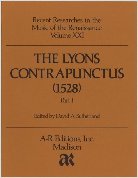 The Lyons Contrapunctus (1528), Part 1