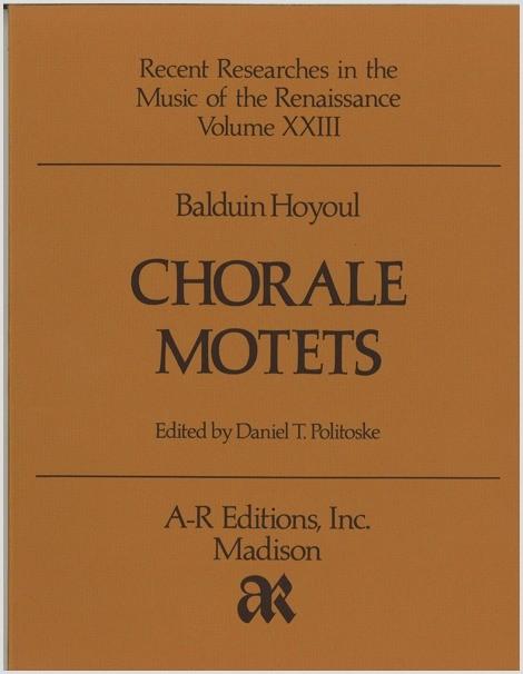 Hoyoul: Chorale Motets
