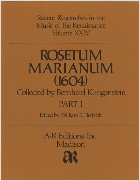 Rosetum Marianum (1604)