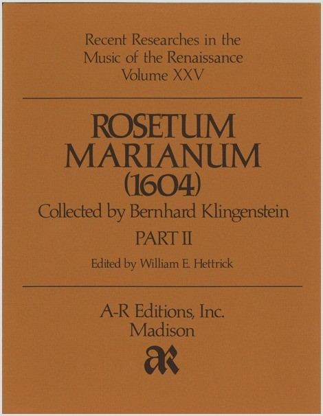 Rosetum Marianum (1604), Part 2