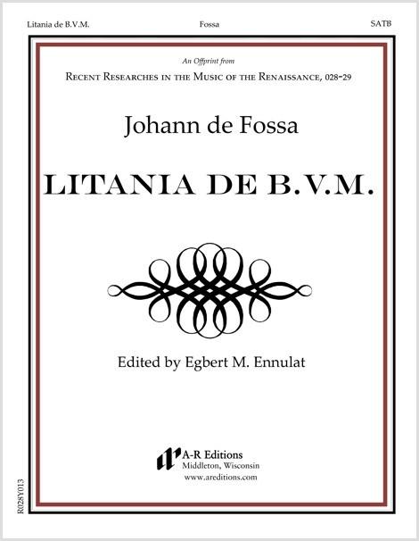 Fossa: Litania de B.V.M.