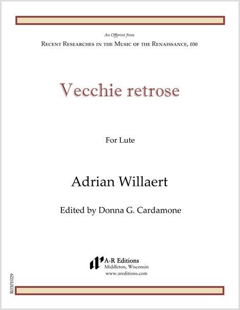 Willaert: Vecchie retrose