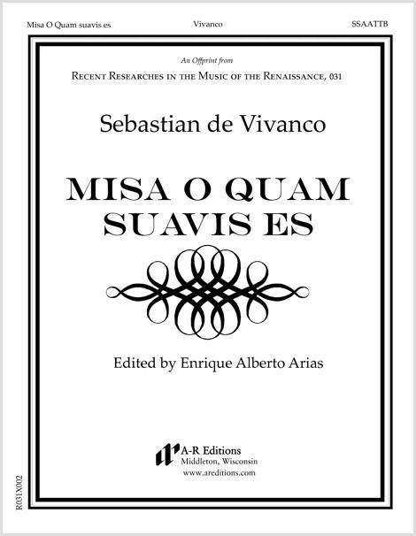 Vivanco: Misa O Quam suavis es