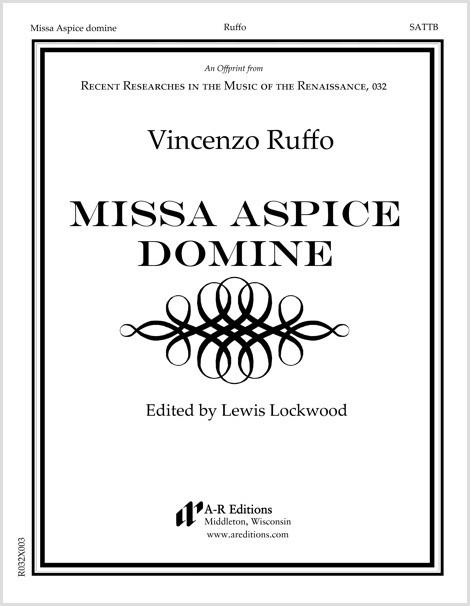 Ruffo: Missa Aspice domine