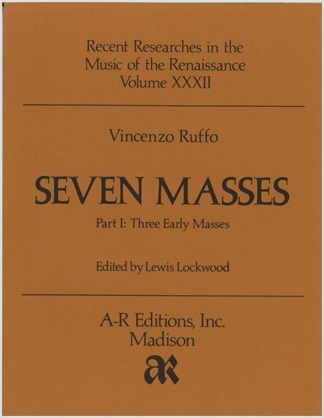 Ruffo: Seven Masses, Part 1