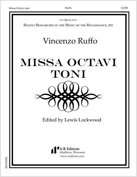 Ruffo: Missa Octavi toni