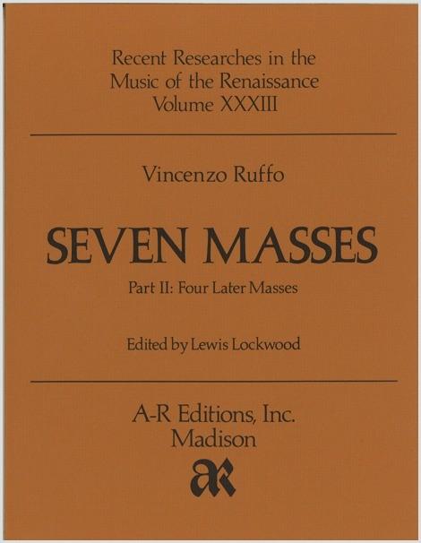Ruffo: Seven Masses, Part 2