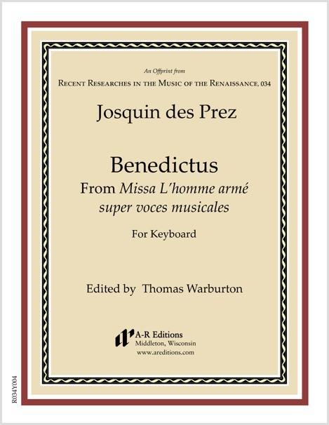 Josquin des Prez: Benedictus