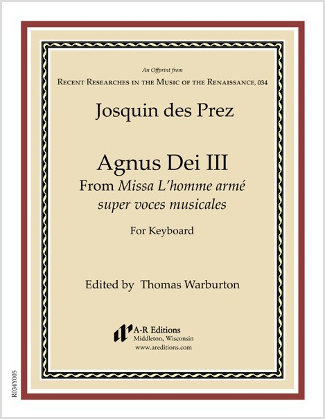 Josquin des Prez: Agnus Dei III