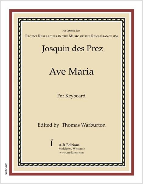 Josquin des Prez: Ave Maria