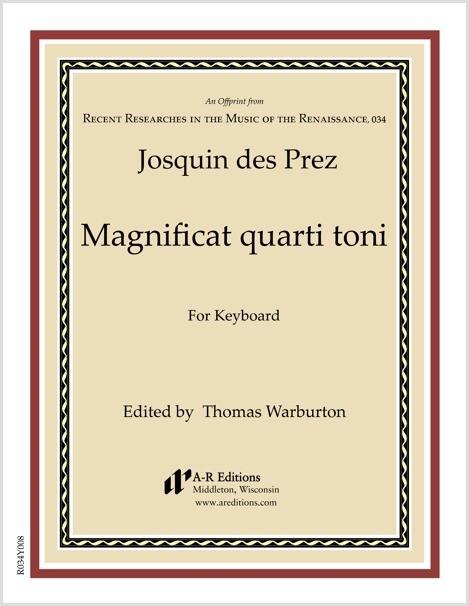 Josquin des Prez: Magnificat quarti toni
