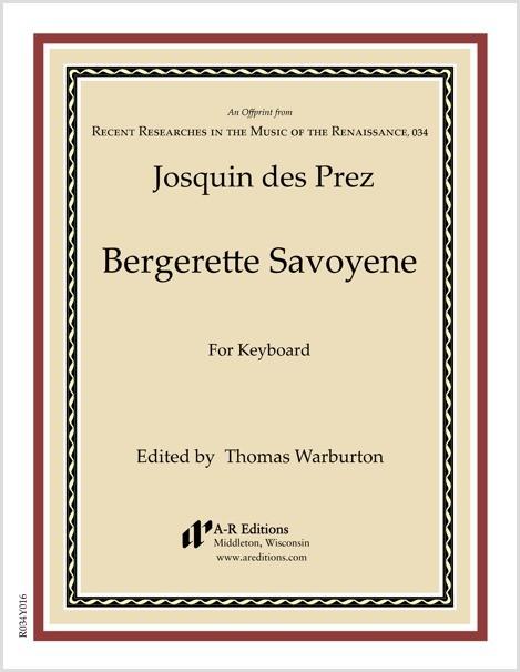 Josquin des Prez: Bergerette Savoyene