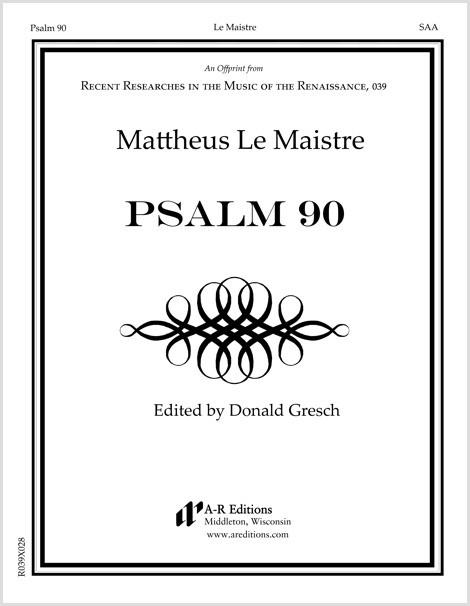 Le Maistre: Psalm 90