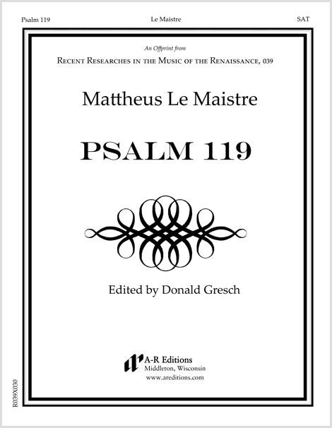 Le Maistre: Psalm 119