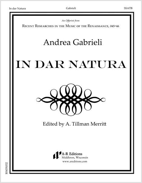Gabrieli: In dar Natura