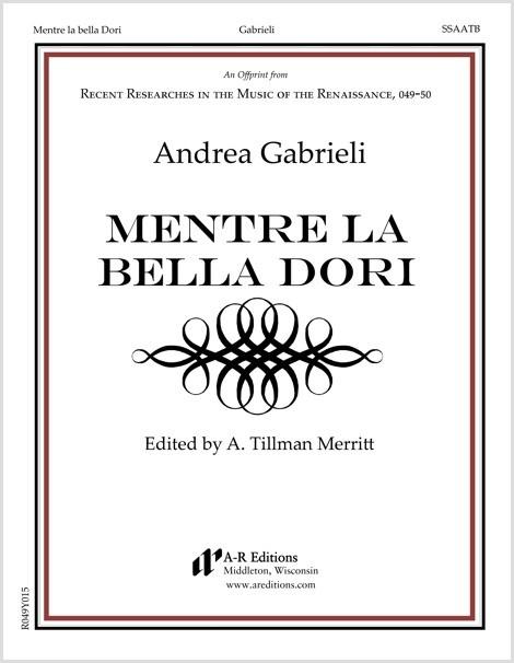 Gabrieli: Mentre la bella Dori