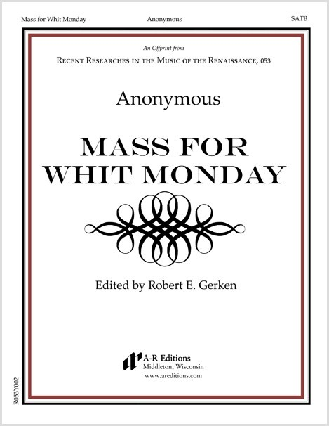 Anonymous: Mass for Whit Monday