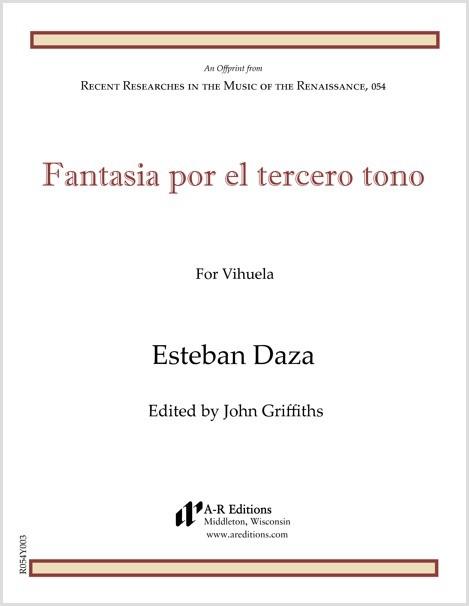 Daza: Fantasia por el tercero tono