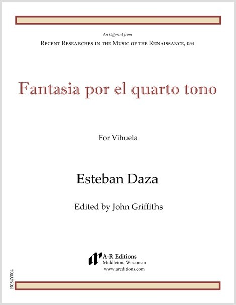 Daza: Fantasia por el quarto tono