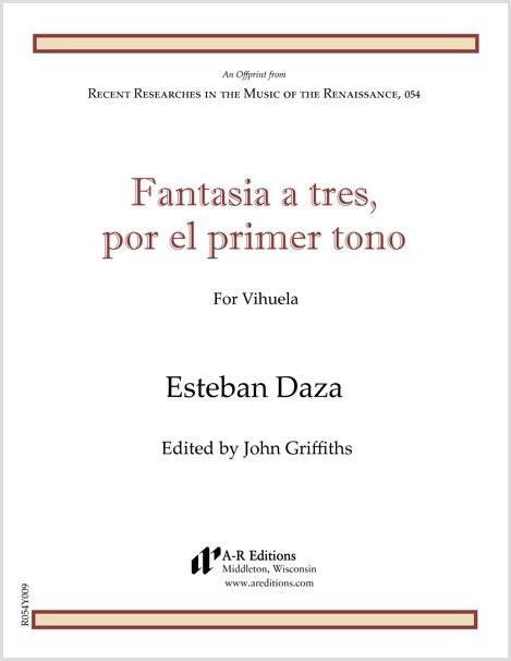Daza: Fantasia a tres, por el primer tono