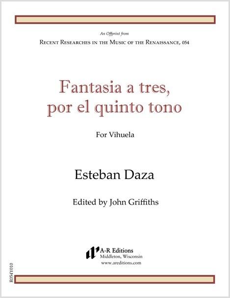 Daza: Fantasia a tres, por el quinto tono
