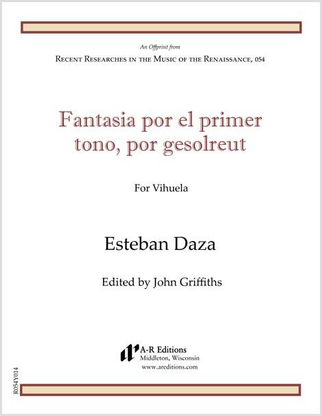 Daza: Fantasia por el primer tono, por gesolreut