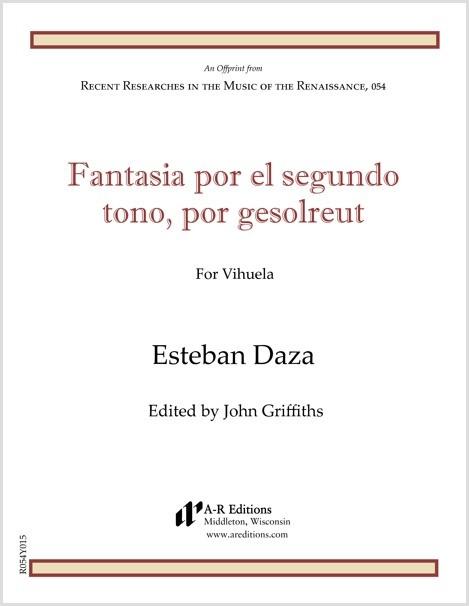 Daza: Fantasia por el segundo tono, por gesolreut