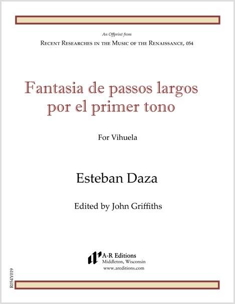 Daza: Fantasia de passos largos por el primer tono