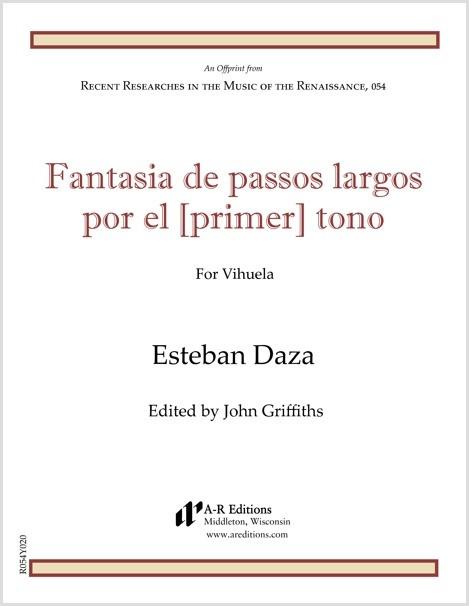 Daza: Fantasia de passos largos por el [primer] tono