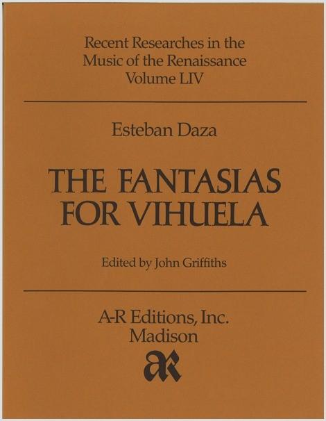 Daza: Fantasias for Vihuela