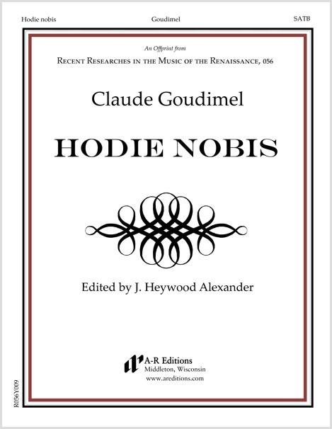 Goudimel: Hodie nobis