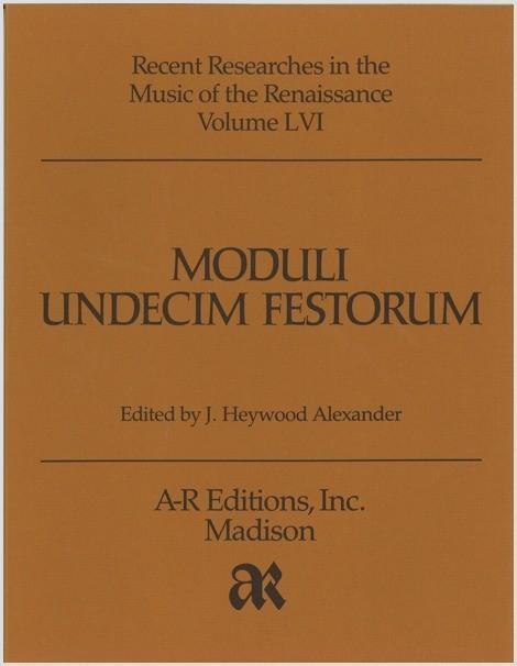 Moduli undecim festorum