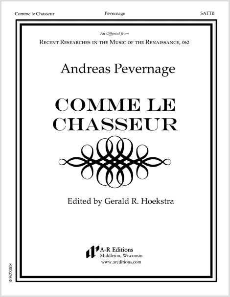 Pevernage: Comme le Chasseur
