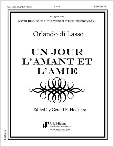 Lasso: Un jour l'amant et l'amie