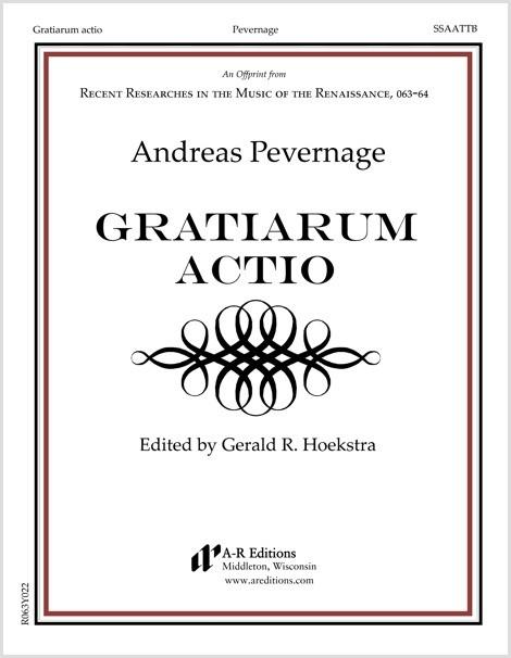 Pevernage: Gratiarum actio