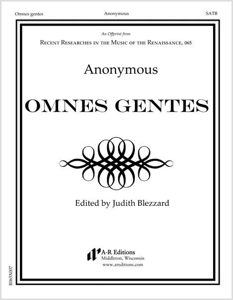 Anonymous: Omnes gentes