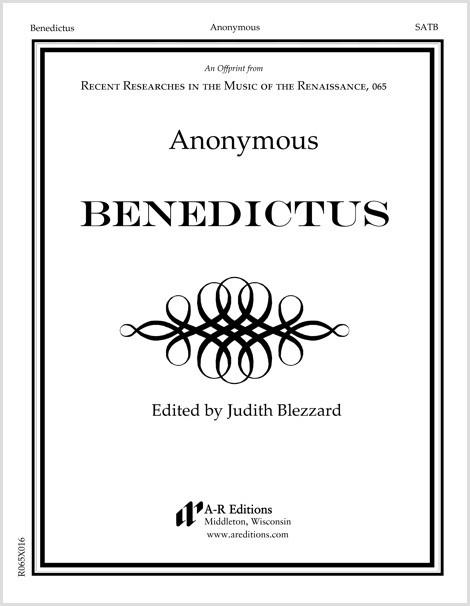 Anonymous: Benedictus