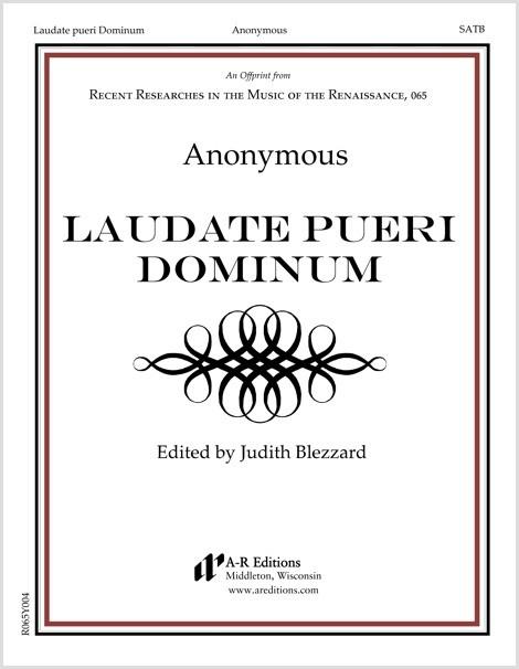 Anonymous: Laudate pueri Dominum