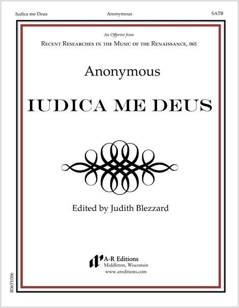 Anonymous: Iudica me Deus