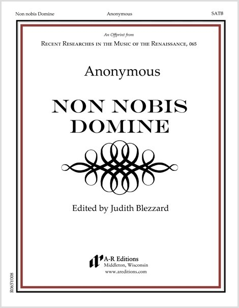 Anonymous: Non nobis Domine