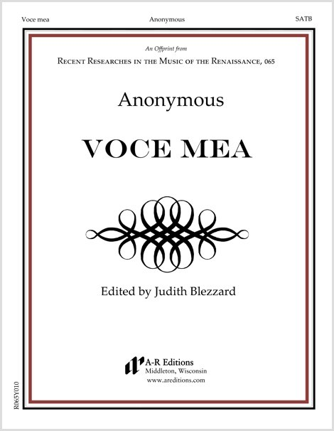 Anonymous: Voce mea
