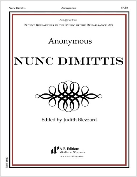 Anonymous: Nunc Dimittis