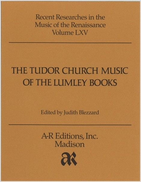Tudor Church Music of the Lumley Books